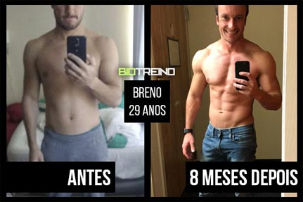 personal trainer antes e depois